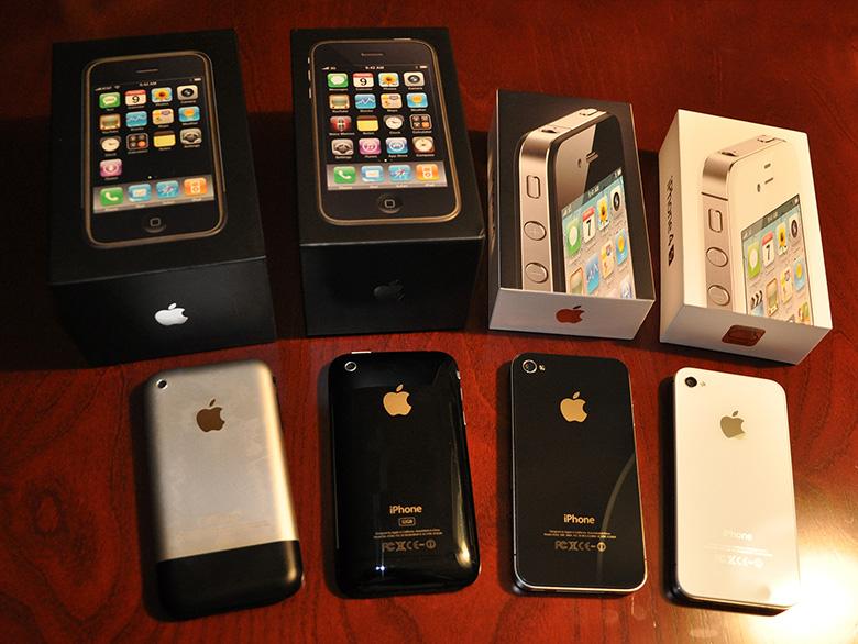 5 años con un iPhone
